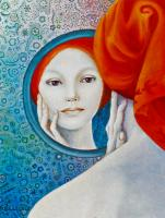France clavet artiste peintre painting artist for Venus au miroir